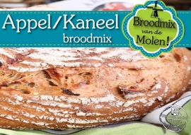 Appel/Kaneel Brood Broodmix 500gram