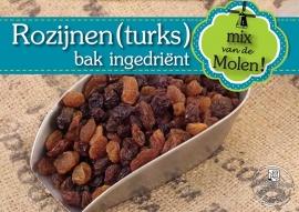 Rozijnen (Turkse Sultana's) 500gram