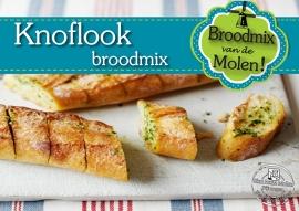 Knoflook Brood Broodmix 500gram