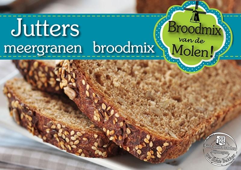 Jutters Brood  Broodmix 500gram