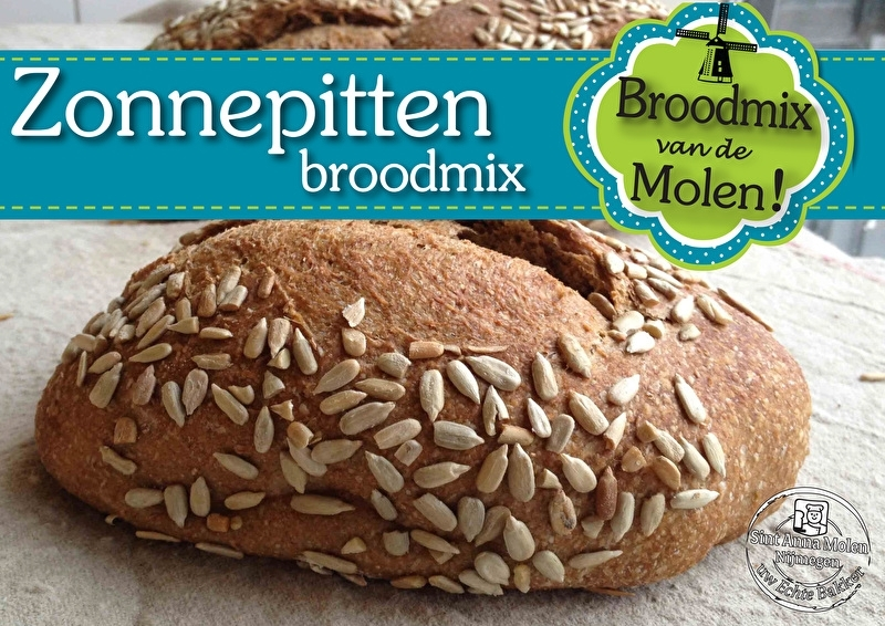 Zonnepitten Brood Broodmix 500gram