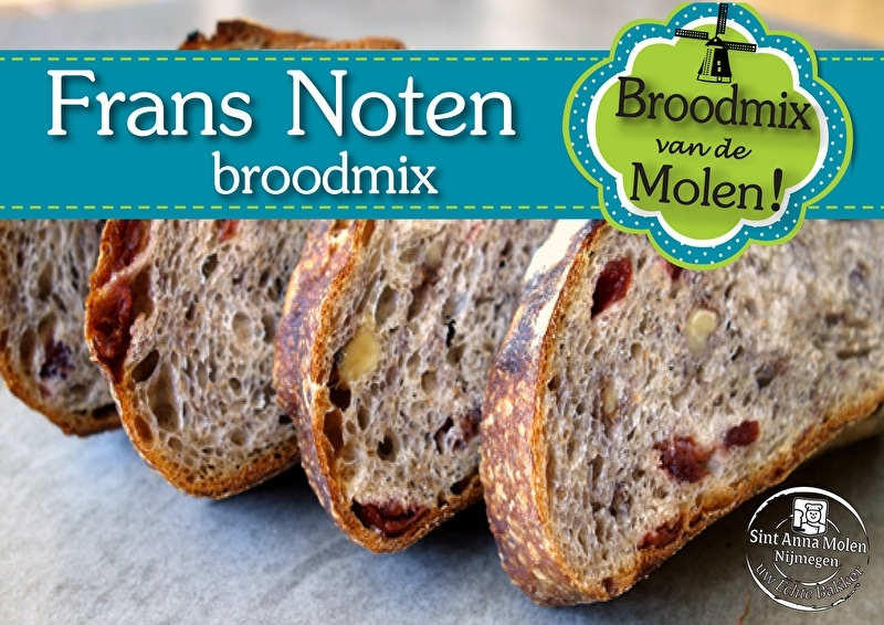 Noten Brood Broodmix 500gram