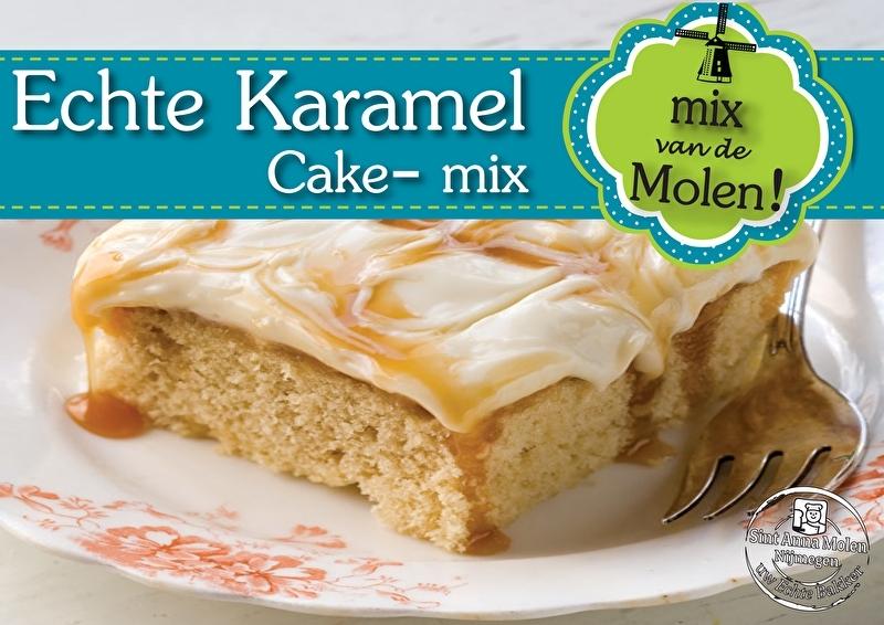 Echte Karamel Cakemix 425gram