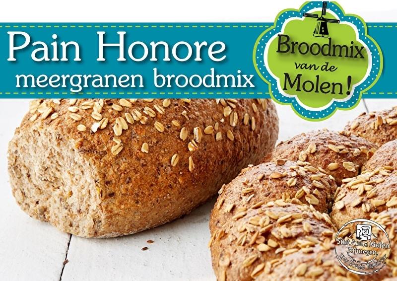 Pain du Honoré Brood Broodmix 500gram