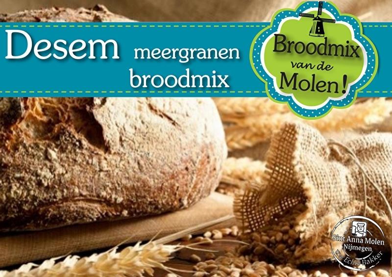Desem Molen Meergranen Broodmix 500gram