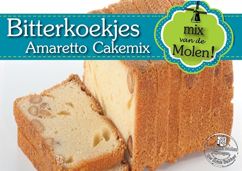 Bitterkoekjes Cakemix met Amarettosmaak 425 gram