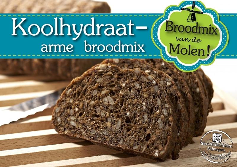 Koolhydraatarm Brood Broodmix 500gram