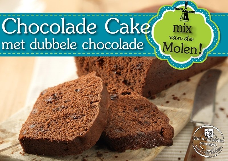 Chocolade Cake Mix 425gram