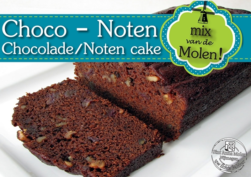 Chocolade Noten Cakemix 425gram