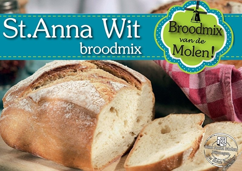 Wit Brood Broodmix 500gram