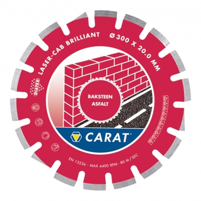 CARAT zaagblad CASS ASFALT STANDAARD