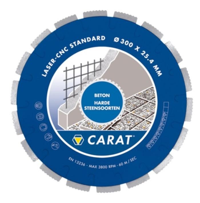 CARAT zaagblad CNC BETON STANDAARD