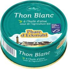 Witte tonijn in olijfolie Phare d'Eckmühl 160 gram