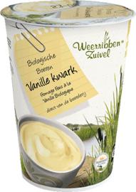 Kwark Vanille  / bio - weerribben / bkr 500gr