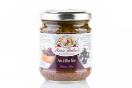 Tapenade van zwarte olijven / Piemonte / potje 180gram / t.h.t 28-02-2020