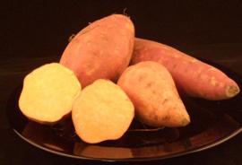 AARDAPPEL ZOET  oranje vruchtvlees | BATAAT | TEELT BIO-SPANJE | 500GRAM