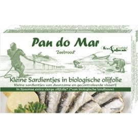 Sardines in olijfolie / Sardientjes / spanje / bio / blikje 120gram / t.h.t 20-02-2024