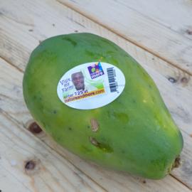 Papaja / papaya / Ghana / teelt: bio /  1 stuks