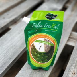 Guanabana | Zuurzak puree | 100% fruit | Freshkita - Ecuador  | zak 450ml / t.h.t. 14-07-2021