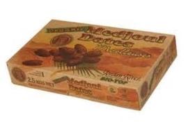 Medjool DADELS / Medjoul / teelt: biologisch / Israel / doos 2 kilo
