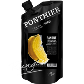 Bananen Puree | Ponthier | zak 1000ml