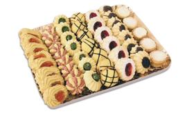 Italiaanse Koekjes gemengd / vassoio di biscotti misti / tray 1 kilo /  t.h.t 30-09-2020