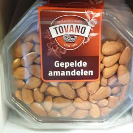 Amandel Naturel | gepelde amandelen | regulier - USA | bakje 100gram