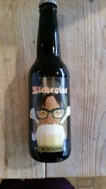 Alchegist Whisky bier   Nicolas Flamel   Whiskey infused Russian Imperial Stout / 9,5 % / 33 cl