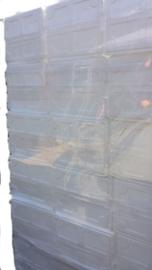 Tempex dozen met deksel klein / EPS / Polystyreen / 6 stuks + deksel
