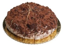 Nougattaart | Tiramisu | 4 kilo / 18 stukken