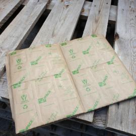 Ice pack XL ECO  / Icepacks met papieren coating| IJsmatjes / droogijs / zwellen op in water/ ijsgel / koelelement / 4x6 cell, 28x40 cm, 800 gr hydrated / per 20 stuks/vel (droog)