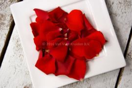 rozenblaadjes / eetbare bloemen/  schoon geteeld - Israel / 8 bakjes (ca. 160 stuks)