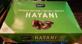 Hayani dadels | Verse natuurlijke dadels | Teelt: regulier - Israel | Ontdooit product | 500gram