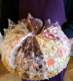 Nougattaart | 6 smaken | 4 kilo / 6x3 stukken (18 totaal)