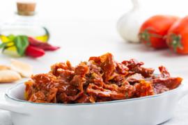Gedroogde Tomaten gekruid / glazen pot 290g / t.h.t. 24-05-2021
