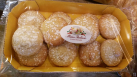 Zachte amaretti  / amaretti morbidi / Italiaanse koekjes / 200 g / t.h.t 30-06-2020