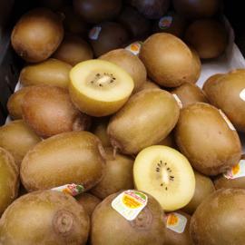 Kiwi Geel | Sungold Zespri Gele kiwi | teelt: regulier - ITALIE/ 5 stuks  (middelgroot)