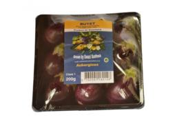 Aubergine | mini aubergine | Teelt regulier Zuid-Afrika / schaaltje 200gram (ca 6 stuks)