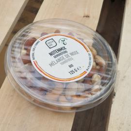 *BIO  Gemengde noten geroosterd / diverse landen / 125gram