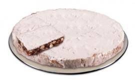 Panforte de klassieke (met veel amandelen, geconfijte vruchten en honing) / 1/8 punt, 375gram