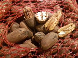 Pecannoten / Raw pecanuts / In de dop / teelt: biologisch - Spanje / 300gram