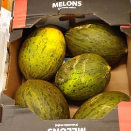 Piel de sapo meloen  / SPANJE / doos 6st. ( 9 kilo)