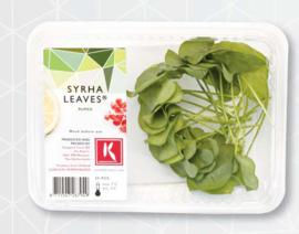 Syrha Leaves   Koppert cress - NL   Bakje 25 stuks