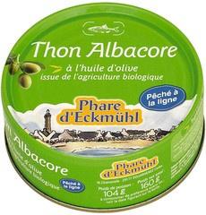 Tonijn Albacore in olijfolie / Phare d'Eckmühl / blikje 160g. / t.h.t. 01-2024