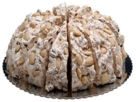 Nougattaart | Amandel & Honing| 4 kilo / 18 stukken