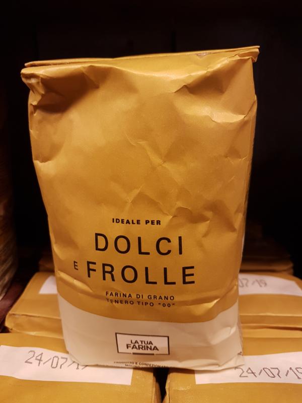 Meel | Type 00 voor gebak en pasta / farina di grano tenero tip '00' ideale per dolci e frolle / 1 Kg / t.h.t 23-05-2020