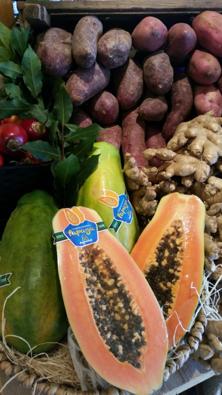 Papaja / papaya / soort: Formosa / zoet / Brazilië / 1 stuks (groot, ca 1 kilo)
