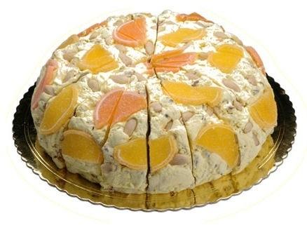 Nougattaart | Limoncello | 4 kilo / 18 stukken