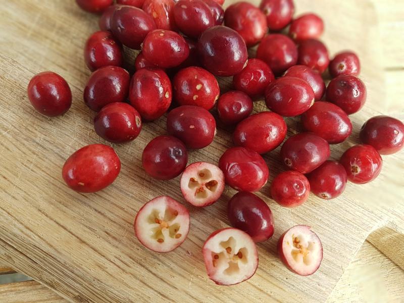Cranberry |  droogpluk,  extra groot / Veenbessen / Cranberries / Ocean Spray / USA / teelt: traditioneel / zakje 250Gram