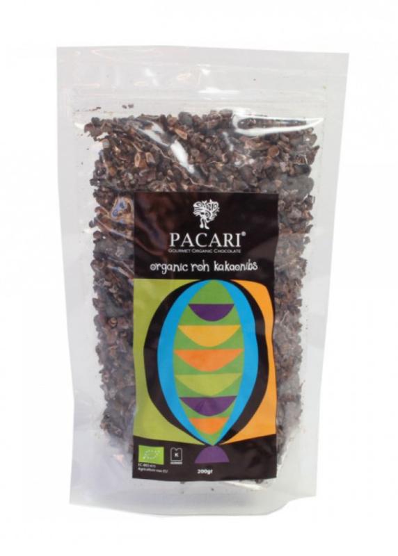 Pacari raw cacao nibs BIO - Equador | 200gram / t.h.t. 06-2021 /